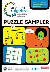Transition to Algebra Puzzle Book