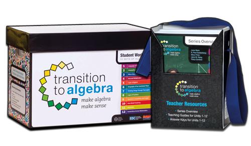 Transition to Algebra