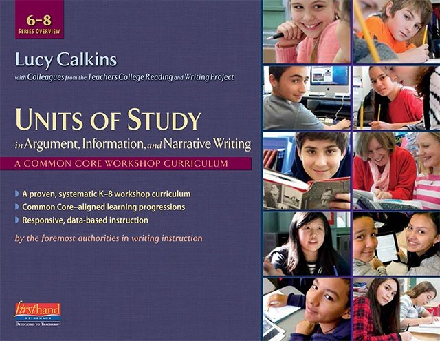 teachers college reading and writing