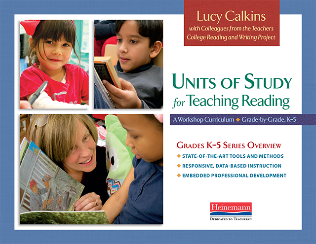 Reading Units of Study Series Overview